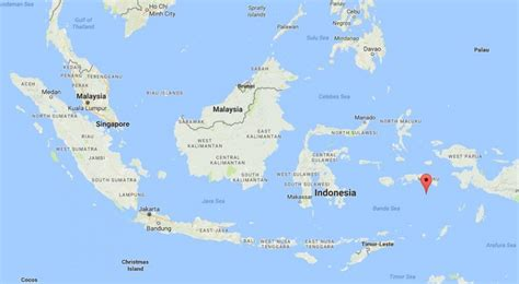 Where are Banda Islands on map Indonesia