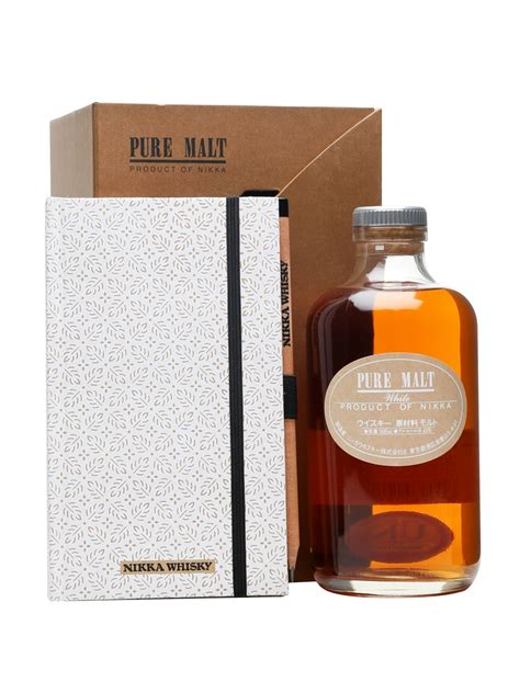 Nikka Pure Malt White - Notepad and Pencil Set : The