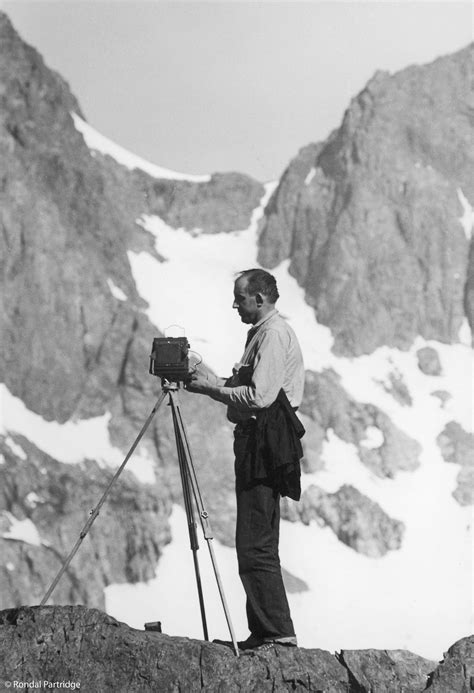 Ansel Adams (1902-1984) American photographer and