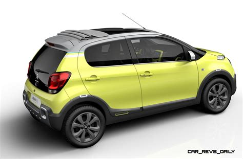 Citroen C1 Urban Ride Concept Adds Crossover Height and