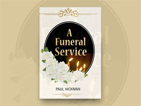 A Funeral Service Book Cover Design by Clever Covers on