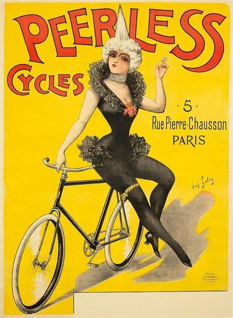 Peerless Cycles, poster by Louis Galice, c