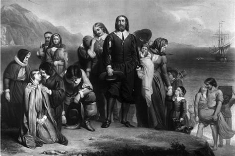 It is claimed that the Pilgrim Fathers set sail from