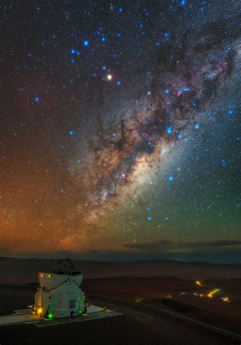 From the Residencia to the Milky Way   ESO