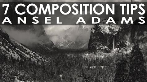 7 Photography Composition Tips I Learned from Ansel Adams