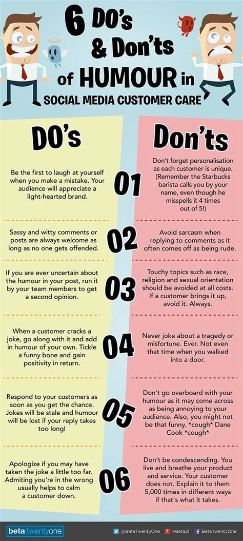 6 Dos & Don'ts for Using Humour on Social Media
