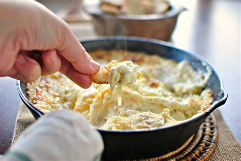 Simply Scratch Baked White Cheddar Leek Dip - Simply Scratch