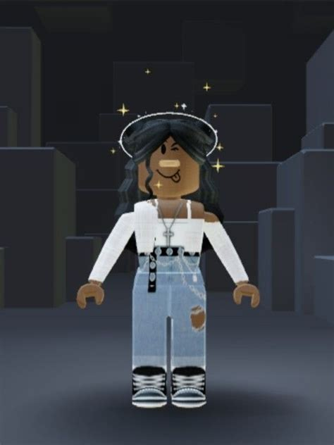 roblox outfit in 2020 | Black girl cartoon, Cool avatars