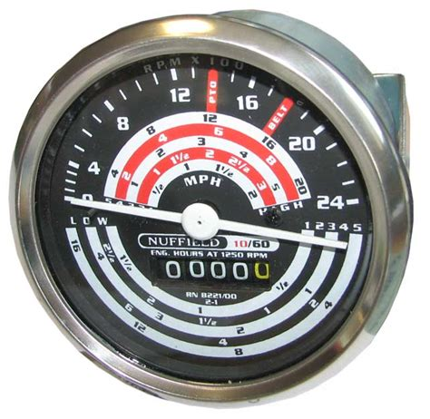 Nuffield 10 60 Tractor Meter