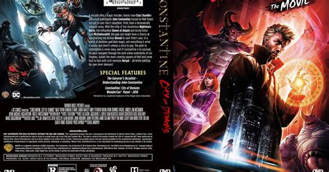 Constantine: City of Demons DVD Cover   Cover Addict