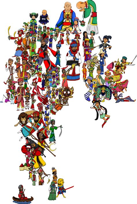Updated India in my EU4 National Personifications Map