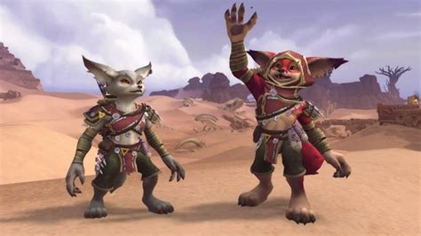 Mechagnomes and Vulpera are the new Allied Races coming in