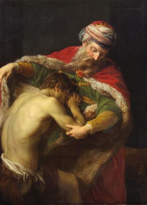 An overview of The Prodigal Son by Rembrandt van Rijn
