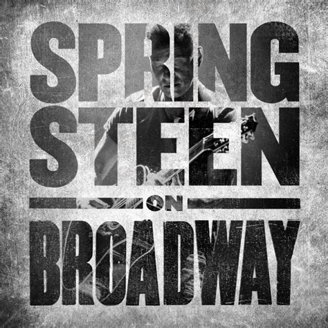 'Springsteen On Broadway' the soundtrack album coming