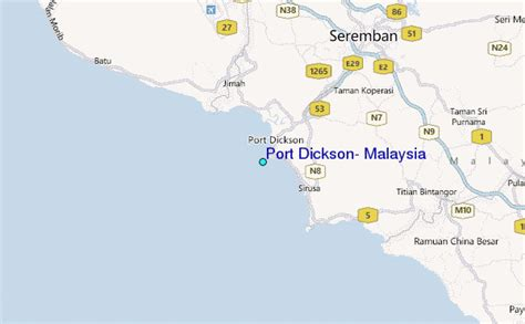 Port Dickson, Malaysia Tide Station Location Guide