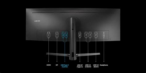 Samsung's 43-inch 32:10 monitor has a built-in KVM switch