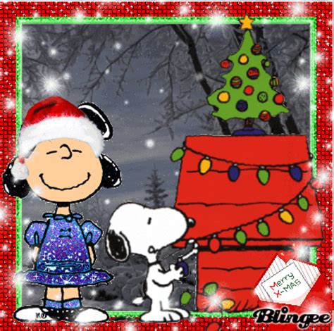 Merry Xmas Love Snoopy Picture #117379933 | Blingee